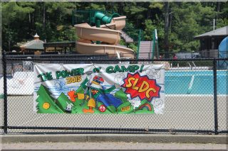 "Our new ""Power of Camp "" banner !!"