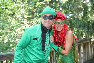 Mitchell & Michelle AKA The Riddler & Poison Ivy Get Into The Color War SPIRIT!