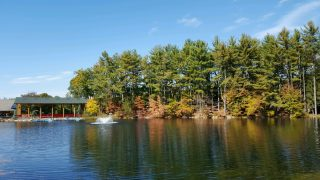 Panoramic View Of The Beautiful Foliage Taken From Our Food Pavilion!