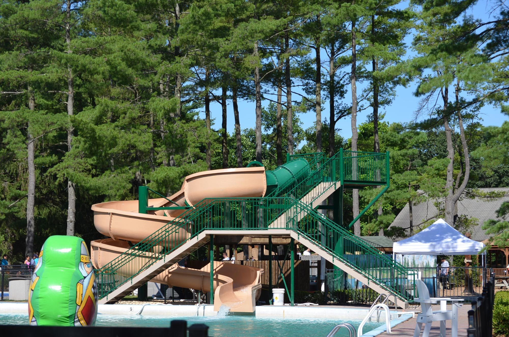 120-ft. Waterslide