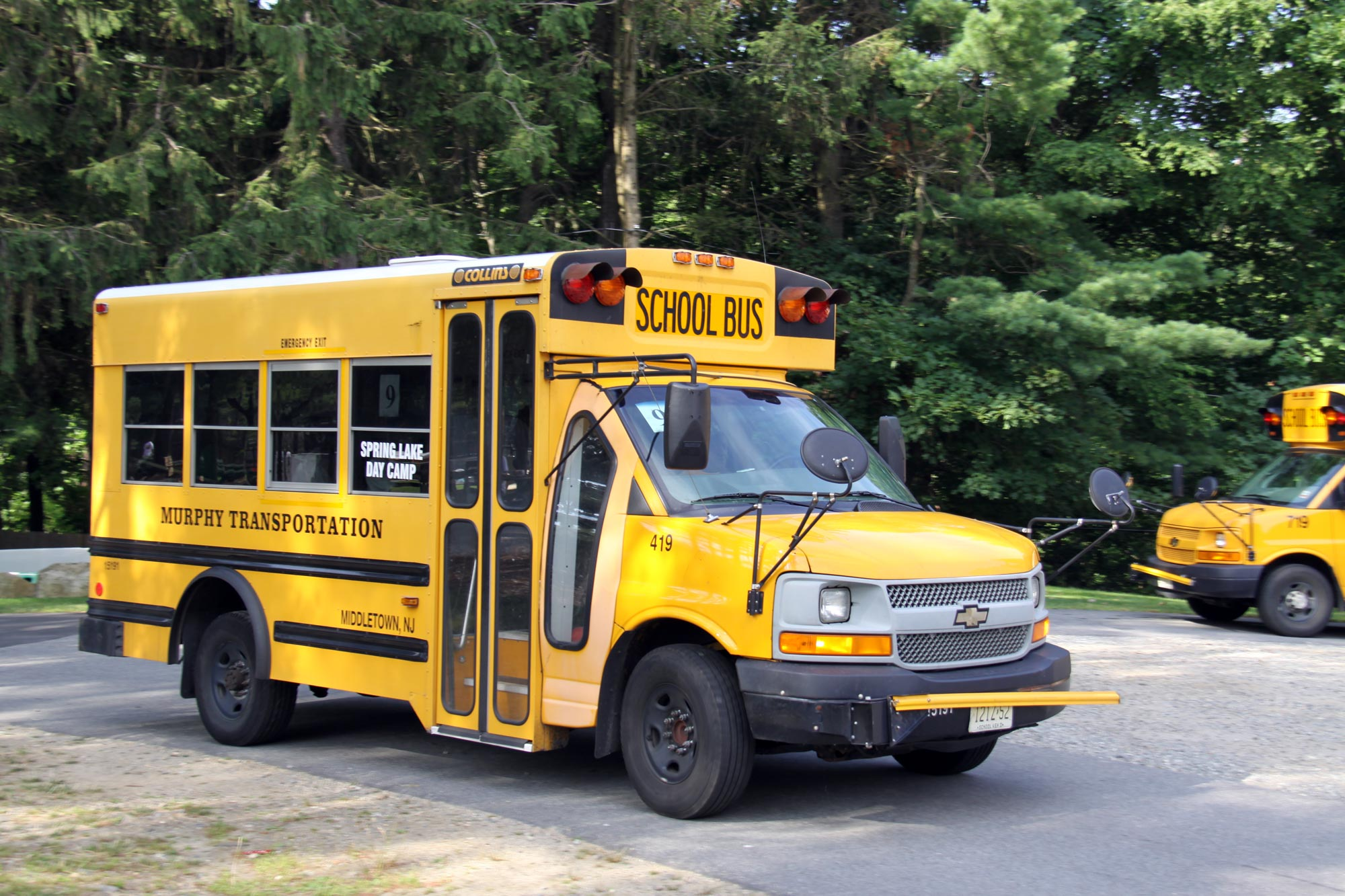 Bergen County, NJ Day Camp Transportation
