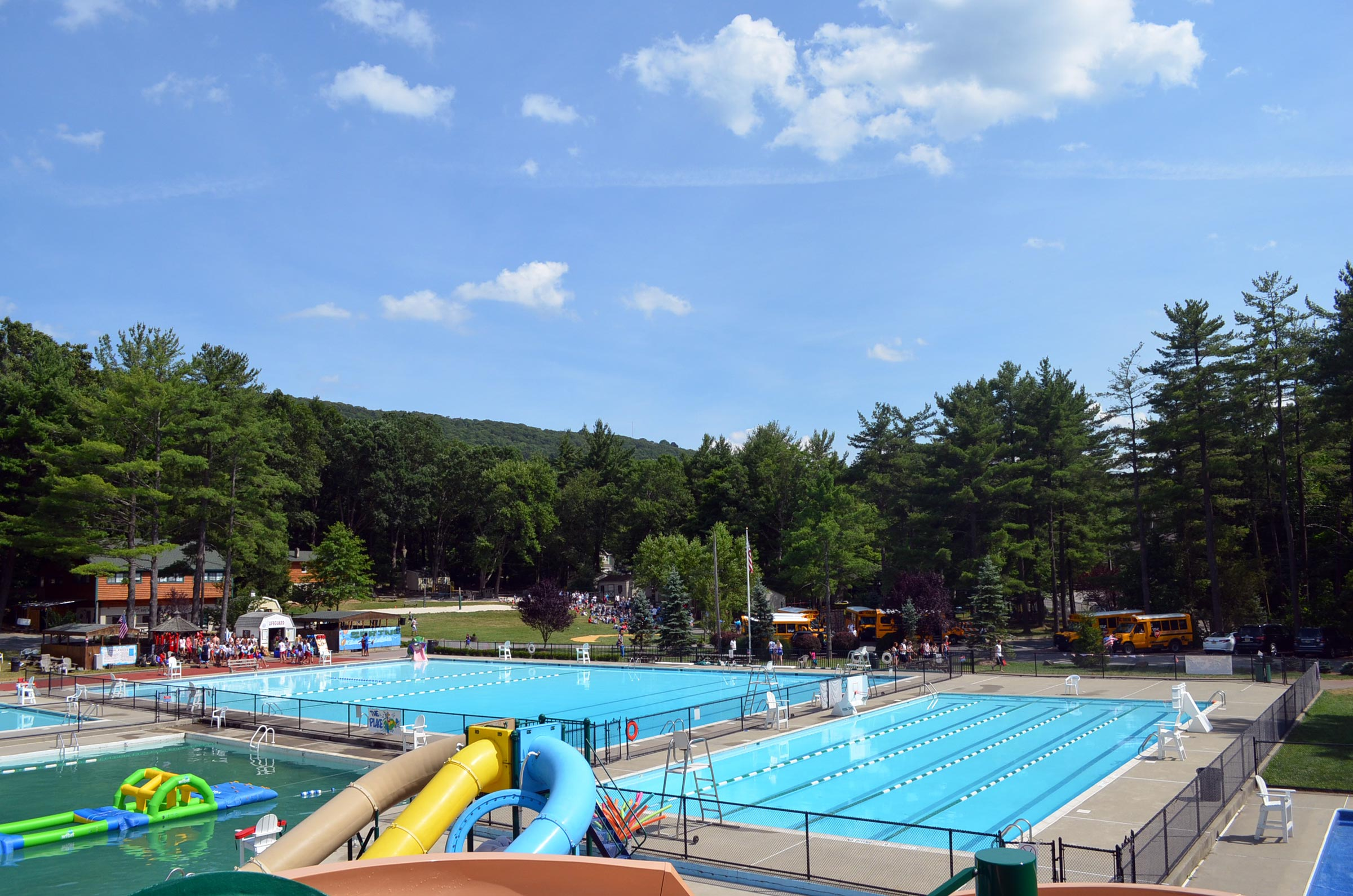 Summer Day Camp Pools in Bergen County, NJ